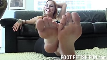 I will tease your cock with my soft sexy feet