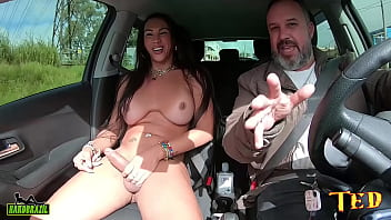 Another one of the most famous transsexuals in Brazil riding Ted Trans #002 - Jhoany Wilker