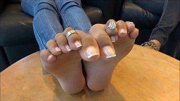 Perfect trini indian feet