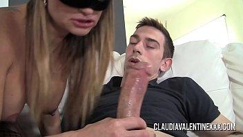 Pornstar Claudia Valentine rocks this young studs world