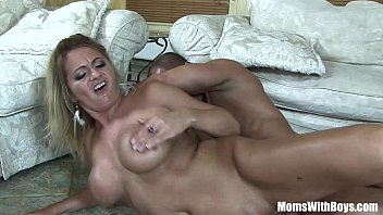Mouth Fucked Blonde MILF Lindsay Foxx Taking A Facial Thumb