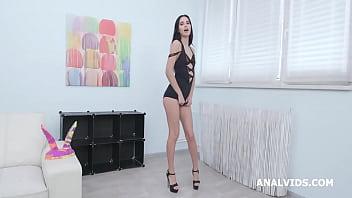Megan Venturi 4on1 Balls Deep Anal, DAP, Gapes and Swallow GIO1389