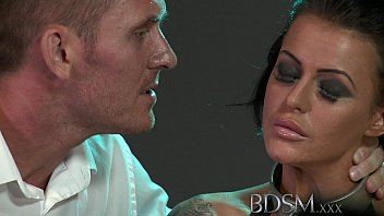 BDSM XXX Big breasted subs get chained up slapped and fucked Vorschaubild