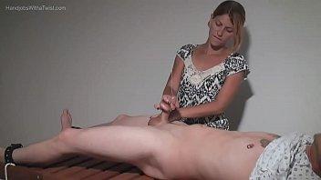 Amatuer Handjobs - Teasing Massage Gal Makes Small Penis Spray Wildly