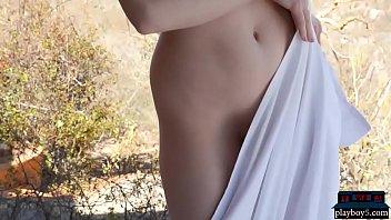 Two Canadian blonde models give a super hot striptease