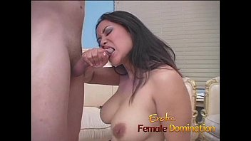 Domination female kicking Asian doctor has fun kicking and jerking a patients cock-6
