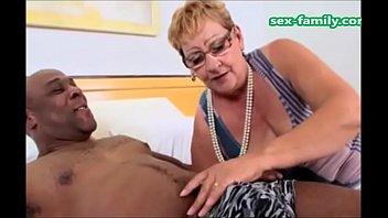 WWWSEX-FAMILYCOM - Brazilian Grandma With Young Black Boy
