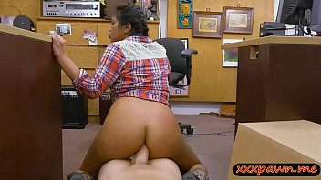 Naughty cowgirl gets her asshole fucked
