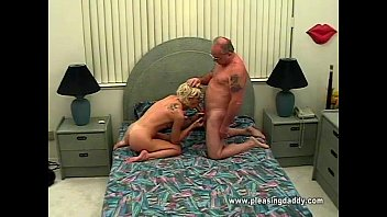 How to get good tasting cum Young horny slut sucking old mans cock