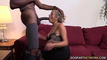 MILF Lexxi Lash Having Her First Interracial Fuck At DogFart Network video