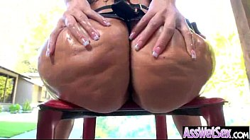 (Alena Croft) Sexy Girl With Big Oiled Wet Ass Like Anal Sex Clip-04