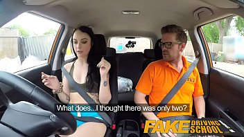 Fake Driving School Gamer Babes Pussy Covered In Cum After Blowjob