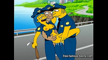 Funny religious scare cartoon strips Simpsons sex parody