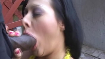 Big black dick blowjob