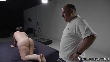 9 Cumshots in the busty Spanish pussy