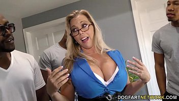 Amber Lynn Bach gets gangbanged and creampied by BBCs porno izle
