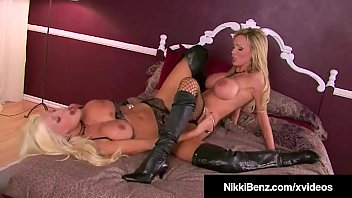 Boot sex clips Busty blonde bombshells nikki benz puma swede cum together