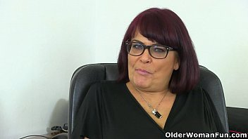 Mature x napalese women - English milf christina x masturbates on her desk