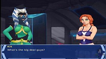 Star Wars Orange Trainer Part 36 cosplay bang hot xxx alien girls sith