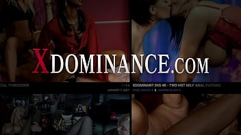 Bound Ball Gagged Lesbian Dominated