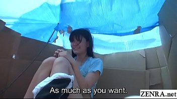 Dictionary of japan sex Homeless jav star sex for food in cardboard home subtitled