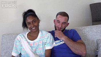 Super Hairy JACKED Italian Jersey Shore Meathead Gets Interracial Ebony