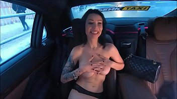 Perverse sexy games Hot russian milf play pervert game with her fake taxi driver