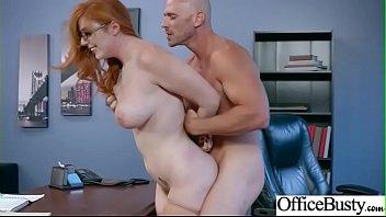 Slut Girl (Lauren Phillips) With Big Juggs Get Sex In Office vid-18
