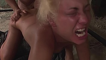 Desperate girl gets strongly tormented, and cruelly humiliated. Part 4.
