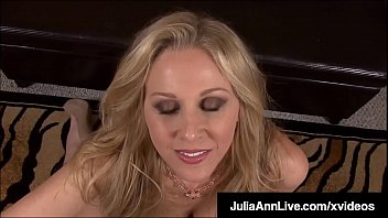 Mommy We'd Like To Fuck - Julia Ann Milks Cock With Mouth! Vorschaubild