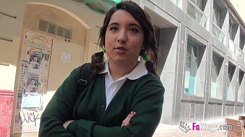Jordi el niñ_o polla and 18yo small titted schoolgirl fuck hard