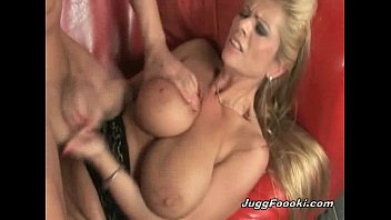 Awesome MILF gets her boobs sprayed