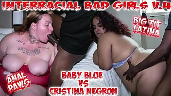 Interracial bad girls 4 anal & big tits