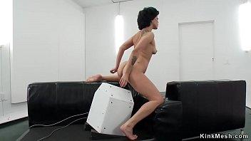 Hot ass Latina banging machine
