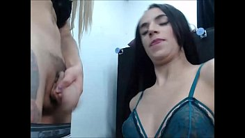Latina Trannies Blowing Each Other On A Hot Orgy