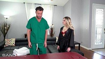 Trickery - Pervy Masseur Tricks Allie Nicole Into Hot Sex