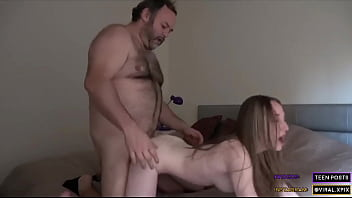 Cute Amateur Young Blonde Teen Gets her lesson at home