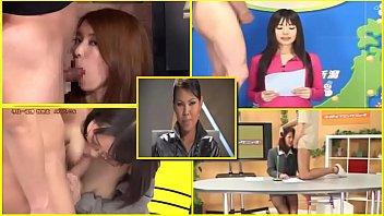BUKKAKE JAPANESE TV NEWSREADERS,PRESENTERS, FACIAL CUM - 1