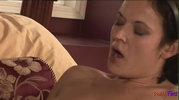 JACQUELYN: Amateur milf in pvc with huge dildo