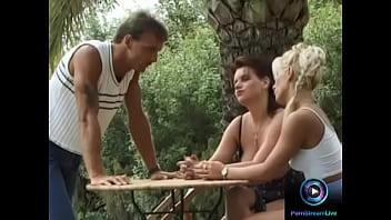 Wild pornstar movies - Horny chicks enjoys wild threesome together with a hung dude
