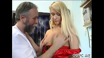 Free movie old sex woman Slender amateur floozy gets licked and rides an old dick wildly