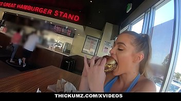 Thickumz - Fit Blond Babe Shakes Her Ass All Over Town