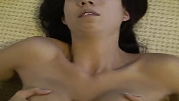 Asian neighbor is blackmailed to suck my cock while hubby is working
