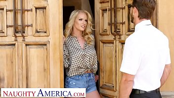 America virgin airlines Naughty america - rachael cavalli fucks a virgin friend of her son