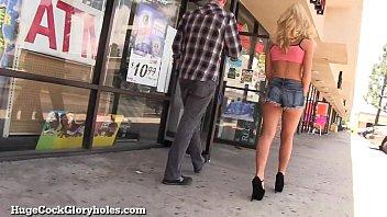 Kay mccreary slut Hot blonde sucks huge gloryhole cock
