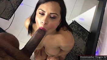 Big black cock fucks a hot ebony in the ass - dominatornegrosp@gmail.com TWITTER @dominadornegro