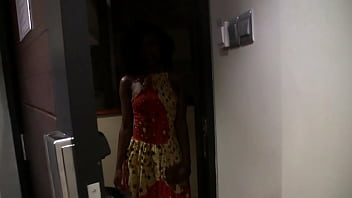 Skinny African Ass Fucked and Facialed