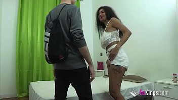 Sexy spanish girls tits Bustiest ebony brazilian girl wants to do dirty things with her friend