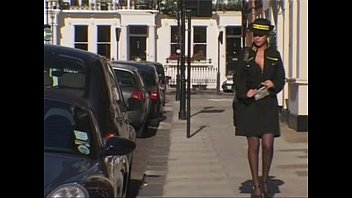 English anal porn British traffic warden gets a fat cock up her arse