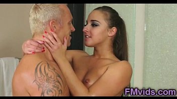 Beautiful Amirah Adara fucked after nuru massage